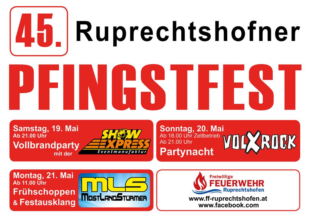 Pfingstfest 2017 @ Ruprechtshofen | Ruprechtshofen | Niederösterreich | Österreich